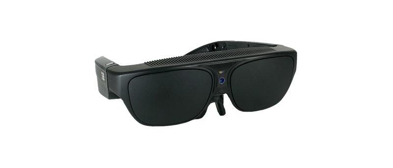Photos des lunettes pour malvoyants NuEyes