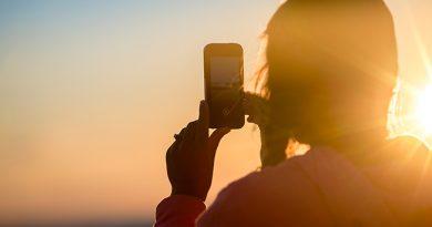 Photo d'un téléphone portable