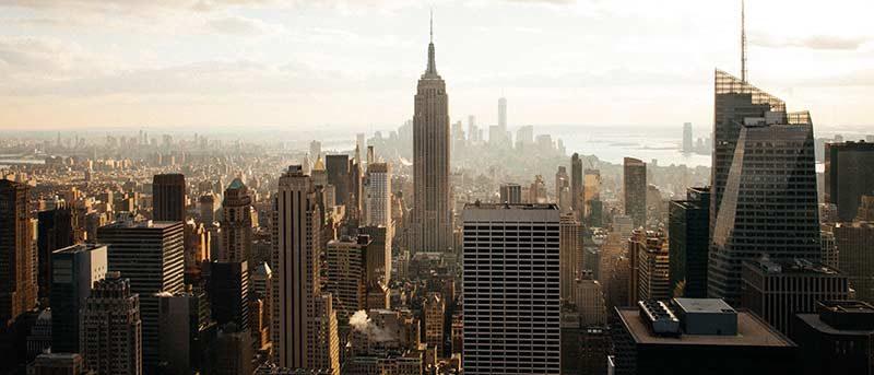 Photo d'une ville américaine