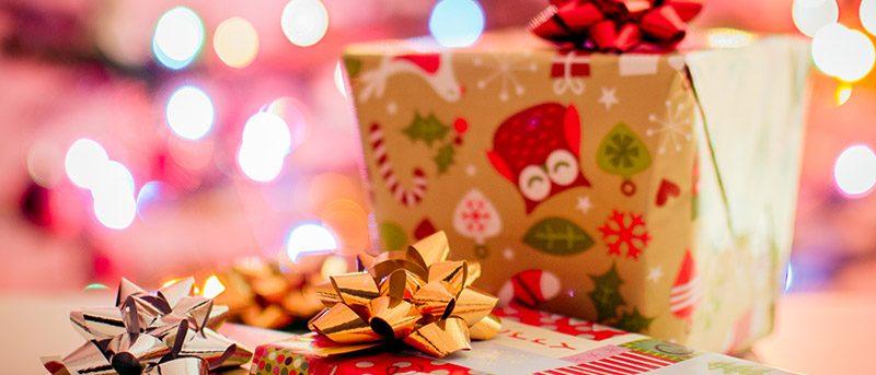 Illustration cadeaux de Noël 2016