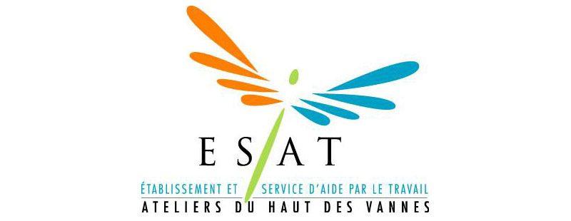 Logo de l'atelier ESAT des Eaux Bleues