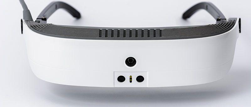 Photo des lunettes à réalité augmentée pour malvoyants eSight