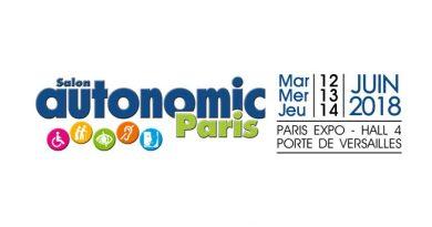 Bannière salon Autonomic Paris juin 2018
