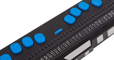 Photo de la plage braille Focus 40 Blue