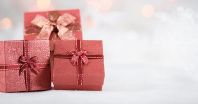Illustration idées de cadeaux de Noël 2018