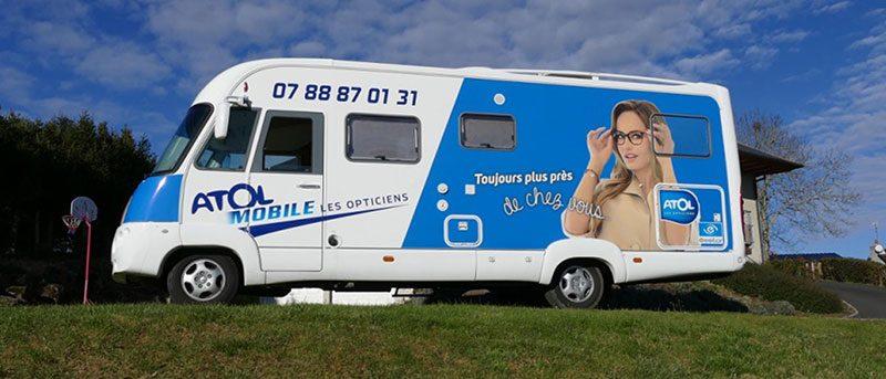 Projet Atol Mobile photo du bus