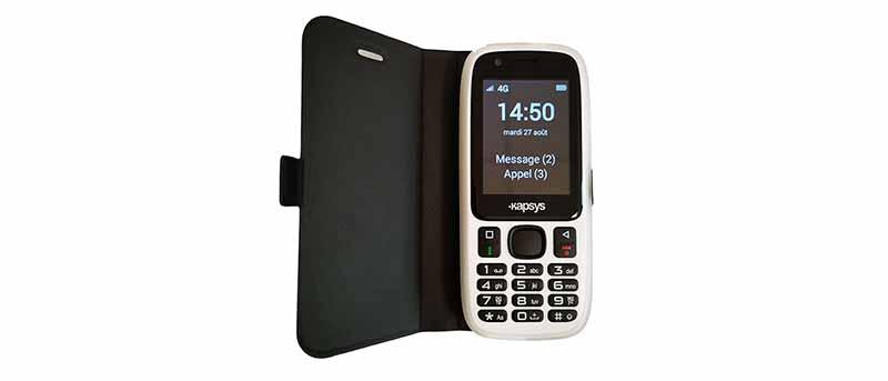 Téléphone simple et vocalisé MiniVision