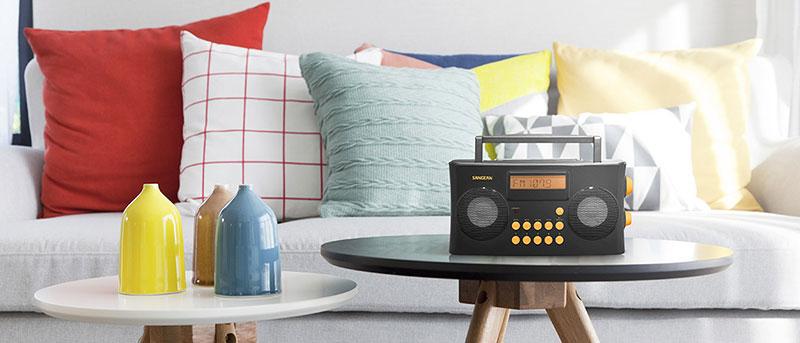 Radio-réveil parlant Sangean vocal 170 PR-D17