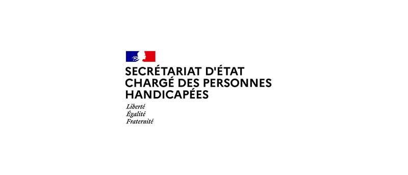 Logo du Secrétariat d'État aux personnes handicapées