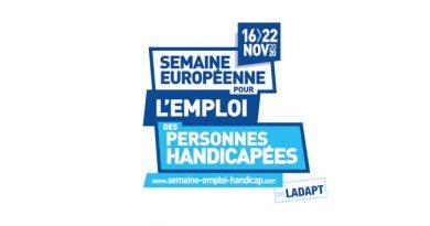 Semaine pour l'emploi des personnes handicapées du 16 au 22 novembre 2020