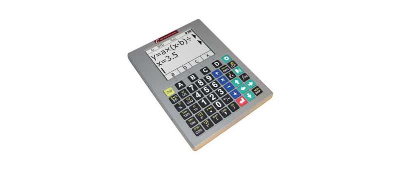 Calculatrice Graphique Parlante Accessible SciPlus 2300