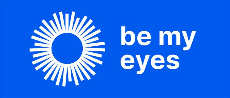 Logo application Be My Eyes