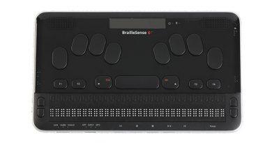 Bloc-notes 32 cellules BrailleSense 6